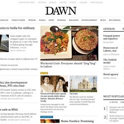 Online Publications - Dawn
