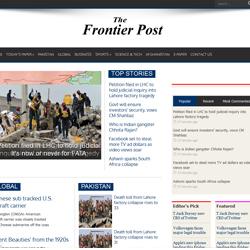 Online Publications - Thefrontierpost