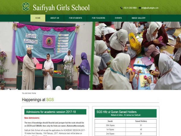 Saifiyah Girls School