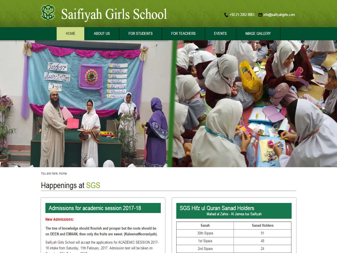 Saifiyah Girls School